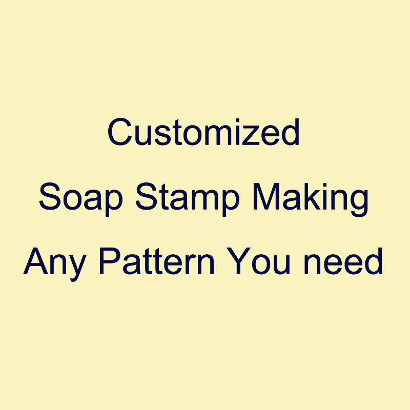 Customized Soap Stamp Making Service Price List Any Pattern Or Words Handmade Soap Stamps