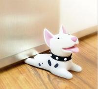 Cute Cartoon Dog Uchwyt Drzwi Korek Bull Terrier bezpieczeństwa dla dziecka dekoracji Domu Pies Anime PCV Figurki Zabawki dla Dzieci