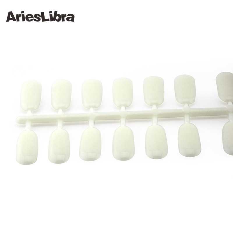 AriesLibra 120 советы для ногтей дисплей ногтей набор цветов лака натуральный 24 Советы на лист для дизайна ногтей Рабочий дисплей