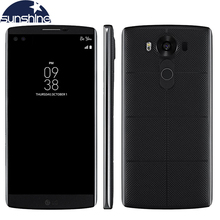 Original LG V10 4G LTE Android Mobile Phone Hexa Core 5.7'' 16.0MP 4GB RAM 64GB ROM 2560*1440 Smartphone
