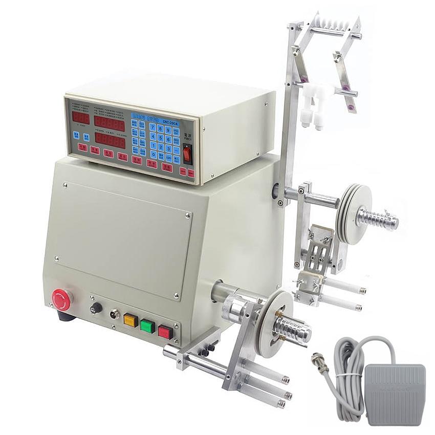 Automático CNC Máquina de Enrolamento Da Bobina para o Fio 0.03-1.2mm Máquina de bobinamento Único eixo Motor 400 W Sem Escova 220 v/110 V 6000 r/min