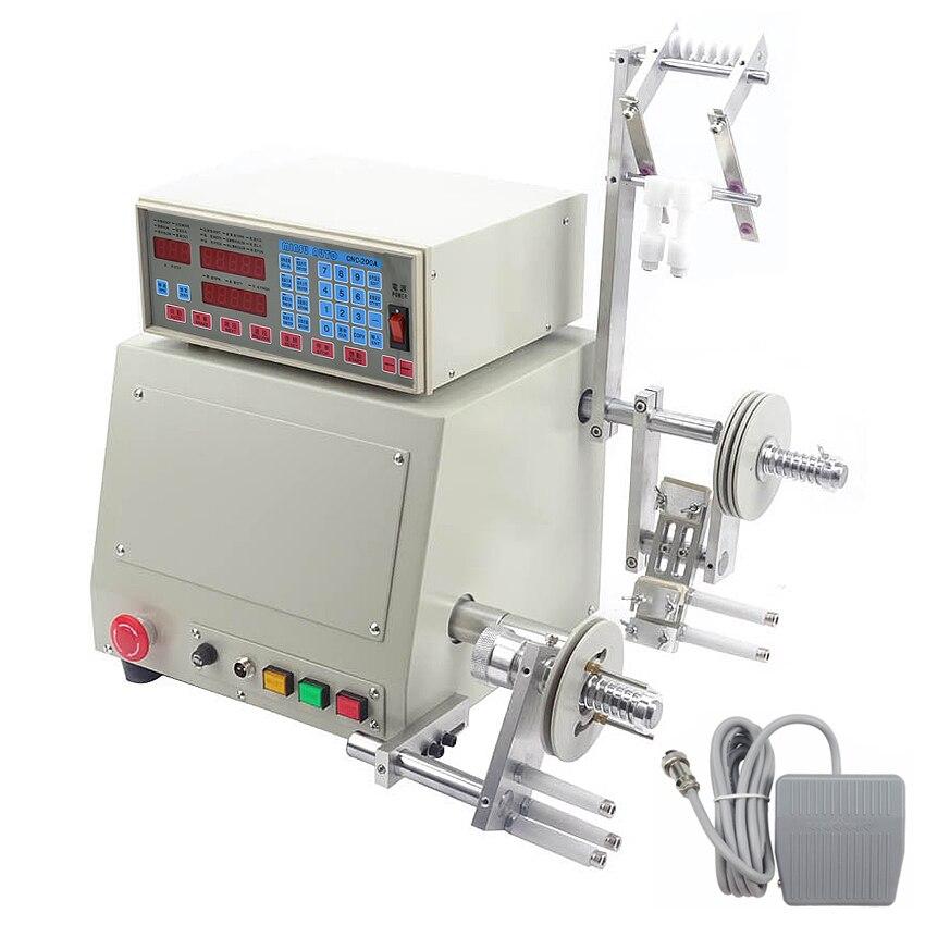 CNC automática de la máquina de bobinado de 0,03-1,2mm de alambre máquina de bobinado de eje único 400 W Motor sin escobillas 220 v/110 V 6000 r/min