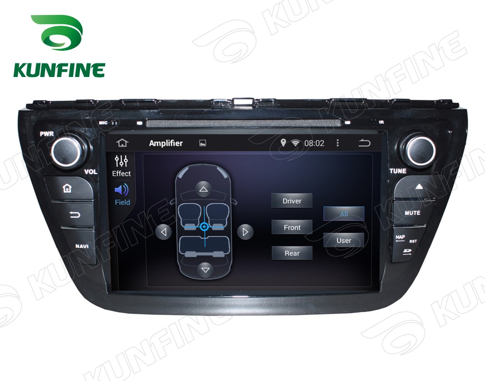 Car dvd GPS Navigation player for SX4 2014 8 inch C