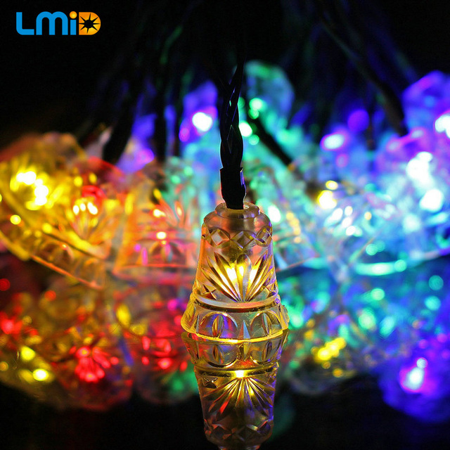 lmid holiday lighting led string fairy light outdoor new christmas lights led decorations multi colored wedding - Decorating With Colored Christmas Lights