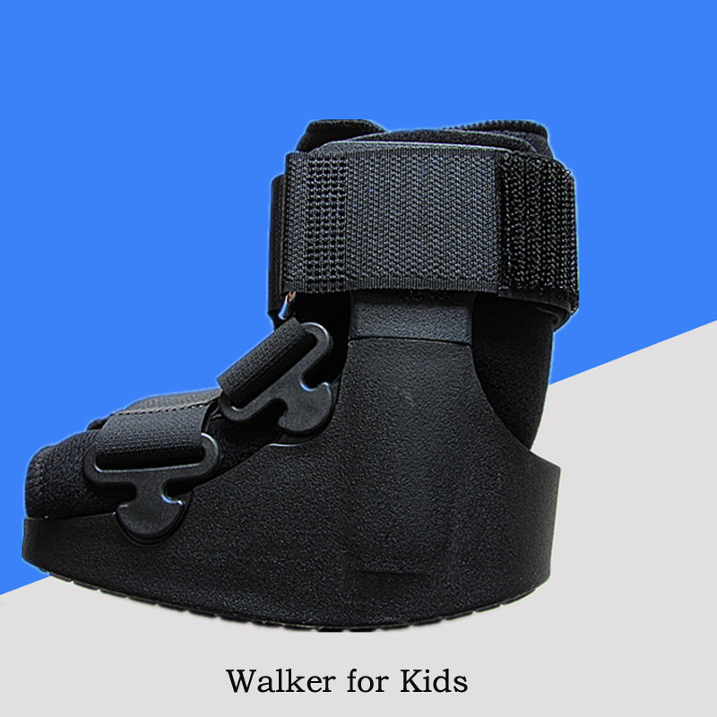 Kids Ankle Walking Boots Brace Orthopaedic Supports For Children Premium Liner Walker 11 Inch Professional Rehab Equipments mld lf 1127 ankle supports
