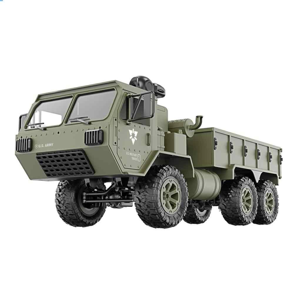 WIFI FPV מצלמה צבא כבד טקטי משאית 6WD RC משאית משאית שלט רחוק RC Transporter מחוץ לכביש RC טאק שטח רב