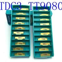חיתוך כלי מחרטה כלי כלי טונגסטן קרביד 20PCS TDC3 TT9080 ניקור 3mm כלי קרביד CNC מחרטה כלי מחרטה חיתוך (2)