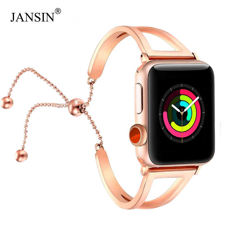 Women watch band For Apple Watch bands 38mm 42mm 40mm 44mm,Stainless Steel bracelet for Apple Watch strap iWatch Series 5 4 3 2