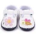 HOT 8 Diseños Cosidos A Mano Bebé TPR Único Hermoso Patrón Bebé Sandalias Zapatos Para Niños Niñas 0-12 Meses