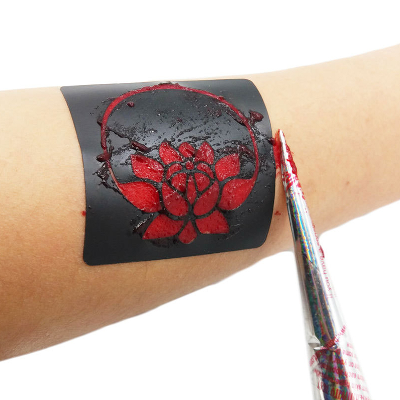 Temporary Tattoo Ink: Aliexpress.com : Buy 1 Pcs India Red Ink Color Temporary