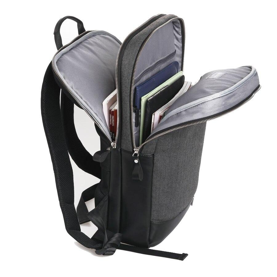 13 14 15.4 15.6 дюймов ноутбука Рюкзаки кожа Тетрадь сумка для MacBook Pro 15 + Бесплатная клавиатура чехол для MacBook 15 Для Мужчинs Рюкзаки ...