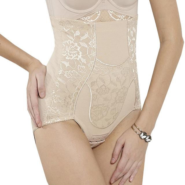 Cintura alta gancho de levantamiento de glúteos bragas que adelgaza más el tamaño de ropa interior de la cintura abdomen trimmer belleza shapers cintura
