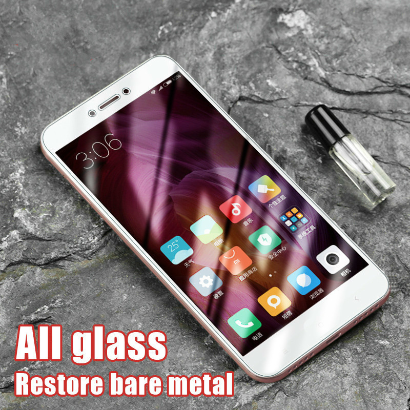 2.5D Tempered Glass For Xiaomi Redmi 4X 4A 4 5A Full Cover Screen Protective Protector Film For Redmi Note 5A Note 4 4X Glass