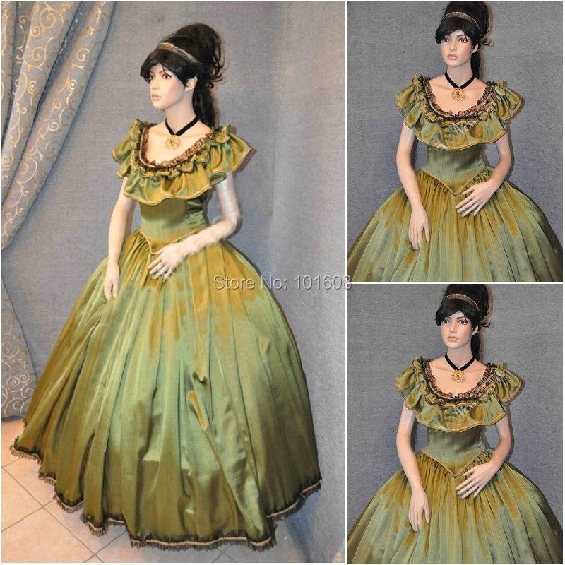 History! Customer made 19 Century Vintage Victorian Dresses 1860s ...