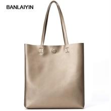 Simple Cow Split Leather Shoulder Bags Woman Casual Totes Bags Handbags Messenger Bags Satchel Large Soft Ladies Shopping Bags