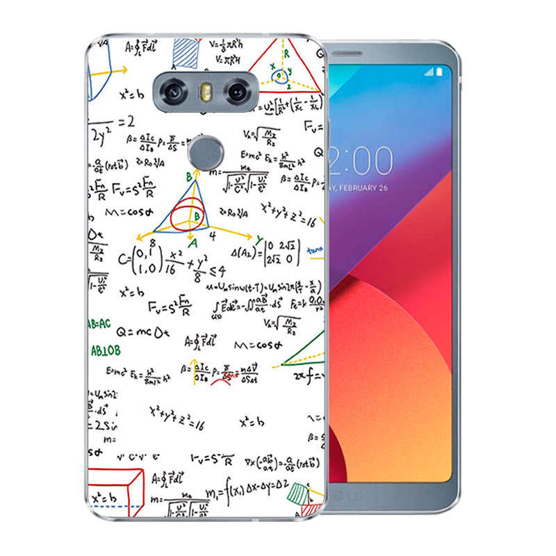 Case For LG G6 Cover Painting Soft TPU Back Shell For LGG6 Coque Colorful  Pattern Ultra Thin For LG G 6 G6 5 7