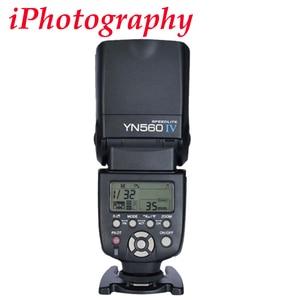 Image 2 - Yongnuo YN560 IV YN560IV Flash Speedlite for Canon Nikon Pentax Olympus DSLR Cameras + Gift Kit