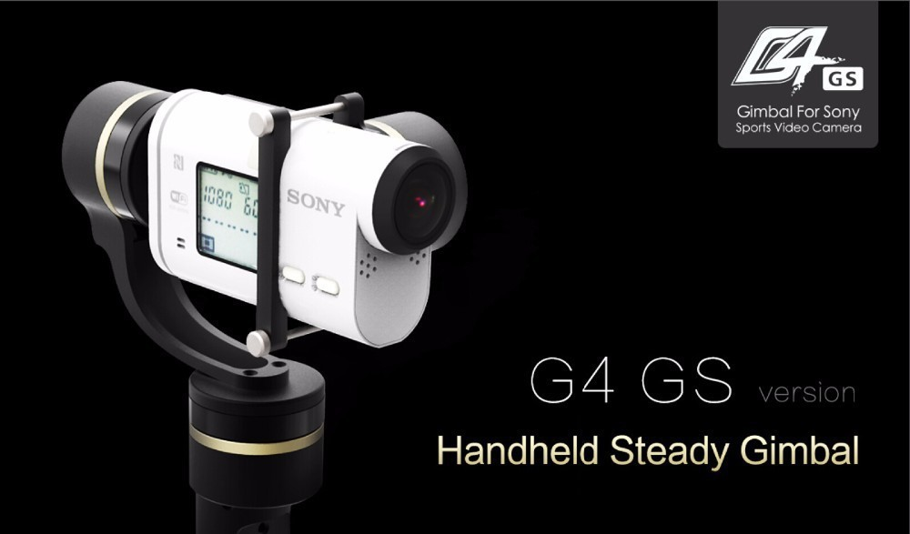 handheld gimbal for Sony AS series camera  3-axis brushless gimbal