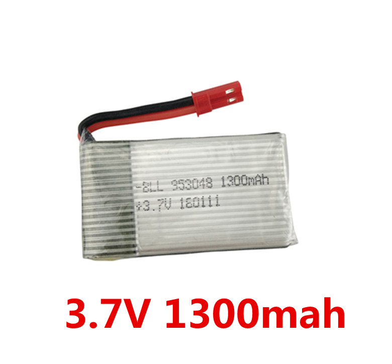 BLL H11 H11C H11D axis remote control aircraft accessories H11d H11-013 upgrade battery 3.7V 1300mah lithium battery four axis aircraft lithium battery accessories for udi u842 u842 1 u818s helicopter 3pcs battery and 6 in 1 charger