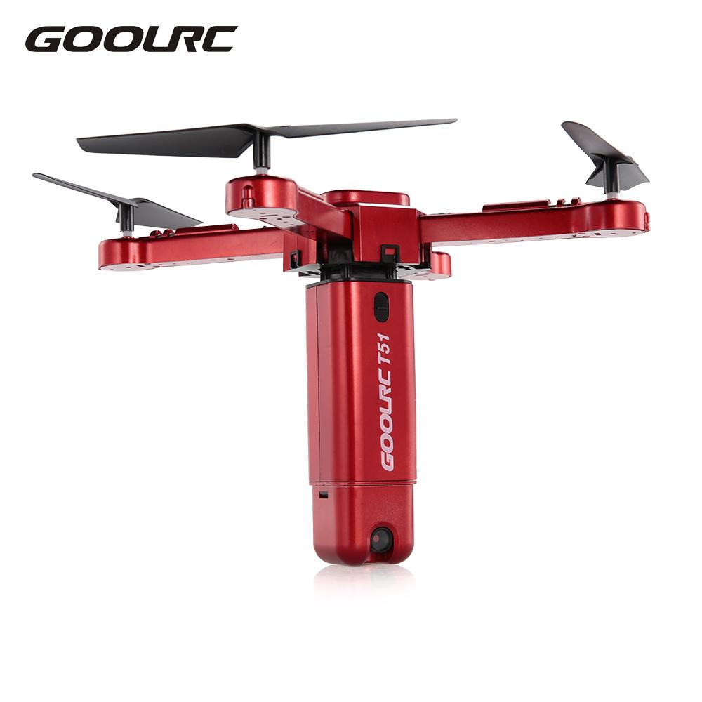 T51 Quadcopter Rocket RC Drone with Camera VS JJRC H51 Wifi FPV Foldable Dron Helicopter Panoramic Aerial Photography Video