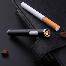 Portable Rechargeable Cigarette Lighter Long USB Electric Arc Plasma Lighter Cigar Igniter Smoking Tools Gadgets For