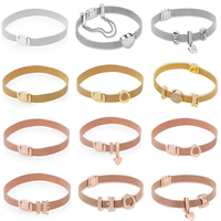 KAKANY Classic REFLEXIONS Bracelet Series Fit Original Bracelet silver 925 original High quality 1:1 fashion jewelry DIY