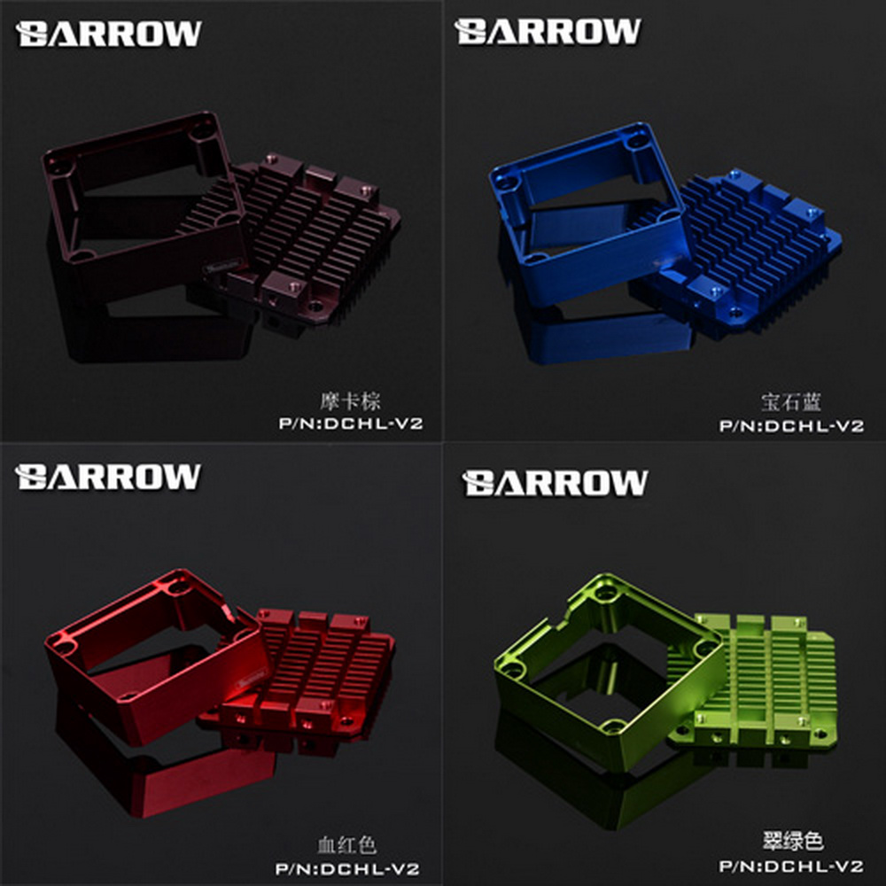 Barrow DDC Pump Heatsink Mod Kit DCHL-V2 barrow pmma ddc pump integration reservoir mod kit pbtt ytw3080 top cover