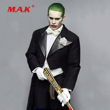 цена High Quality 1:6 Scale Joker Jared Leto Head Sculpt with Clothes Set fit 12