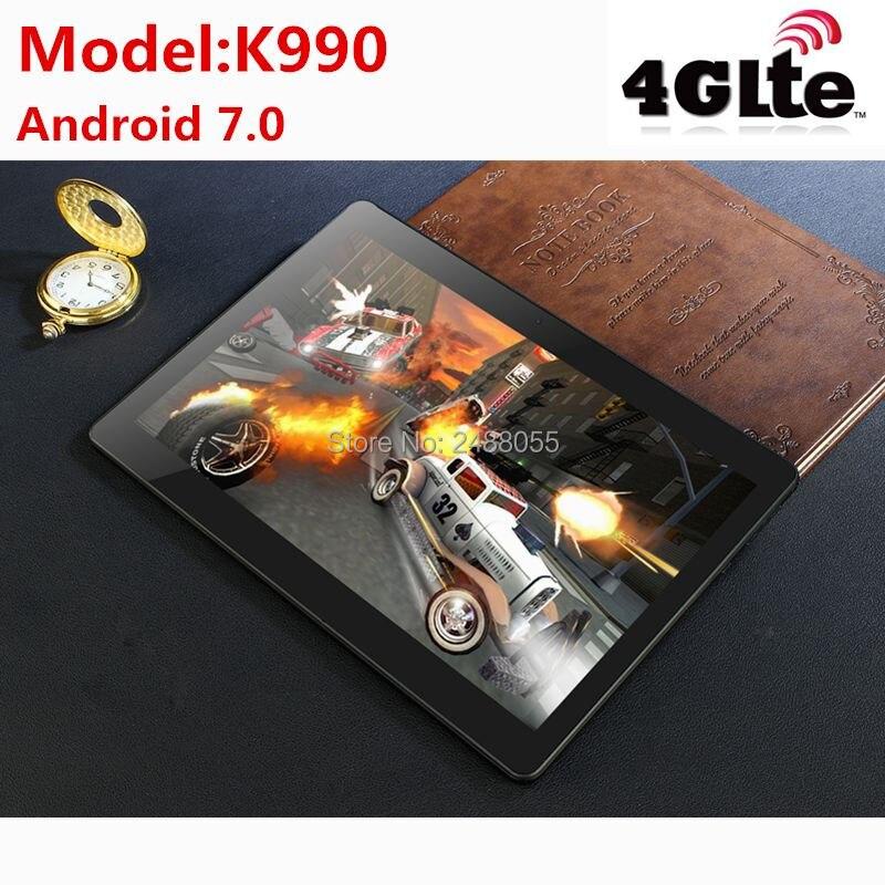 10,1 дюймов планшетный ПК Octa core 3g 4G LTE Планшеты Android 7,0 Оперативная память 4G B Встроенная память 6 4G B Dual SIM Bluetooth gps Планшеты 10,1 дюймов планшетный П...