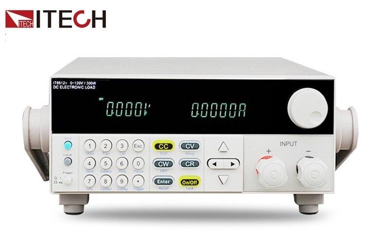 LIVRAISON GRATUITE ITECH IT8512A + DC électronique charge une façon Programmable 150 V/30A/300 W