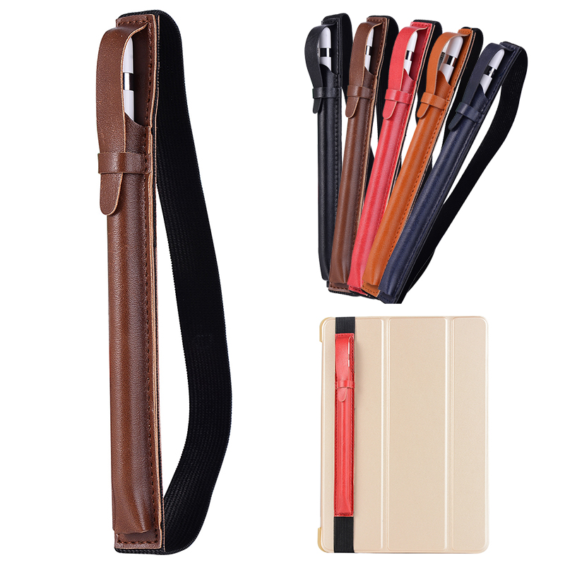 Universal for Apple Pencil PU Touch pen Case holder Pencil Holder Portable Scratch Prevention 5 Colors