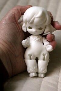 Image 4 - Muñecas de palma 1/12 bjd, oveja pequeña, muñeca para niña, mascota, juguetes bjd, envío gratis
