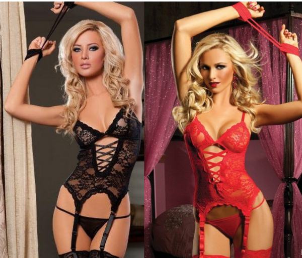 new 2014 Europe America sexy sleepwear costumes lingerie set with garter perspective Trio Set hot sexy  sc 1 st  AliExpress.com & new 2014 Europe America sexy sleepwear costumes lingerie set with ...