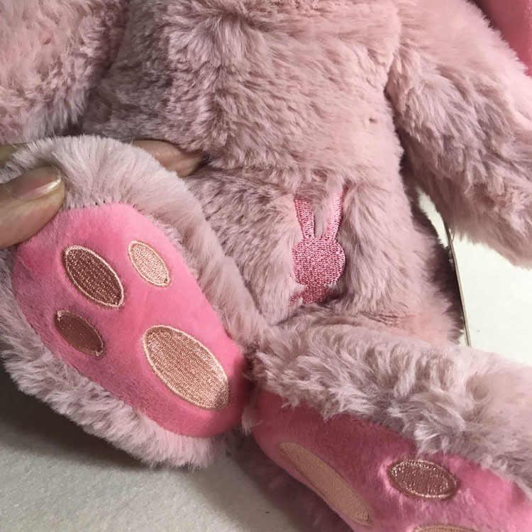 Mishatoys Bayi Tidur Kelinci 25 Cm Plush Boneka Hadiah Tahun Baru Ulang Tahun untuk Anak Perempuan dan Anak Laki-laki Boneka LOL Pengiriman dari rusia