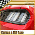 Car-styling For Ford 2015 Mustang Carbon Fiber Rear Tail Light Cover 2pcs