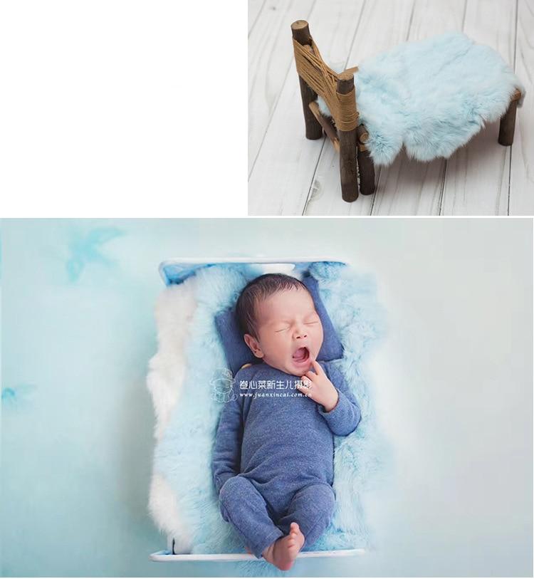 falso bebê foto sessão backdrops posando cesta enchimento acessórios