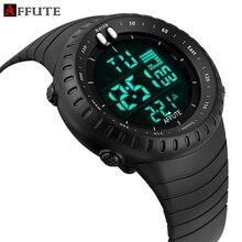Digtial de Primeras Marcas de lujo Para Hombre Relojes de Buceo 50 m Militar Deportes Led Reloj Hombre Moda Casual Correa De Caucho Reloj de Pulsera Electrónica