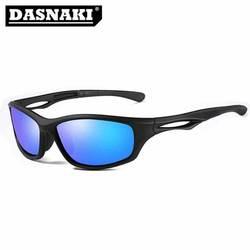 Dasnaki 100% поляризованный Рыбалка Очки из спортивные солнцезащитные Очки мужчин Очки UV400 поляризация для рыбалки