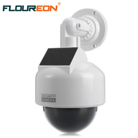 Solar Energy Waterproof Outdoor Indoor Fake Security Camera Night Realistic Camera CCTV Surveillance Dummy Camera LED