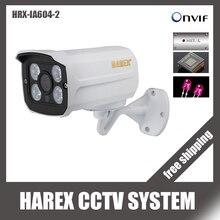 H.264 OV4689+ HI3516D 4MP IP камера DC 12 В 48 В ONVIF Алюминиевый металлический водонепроницаемый открытый ИК ночного видения Plug and