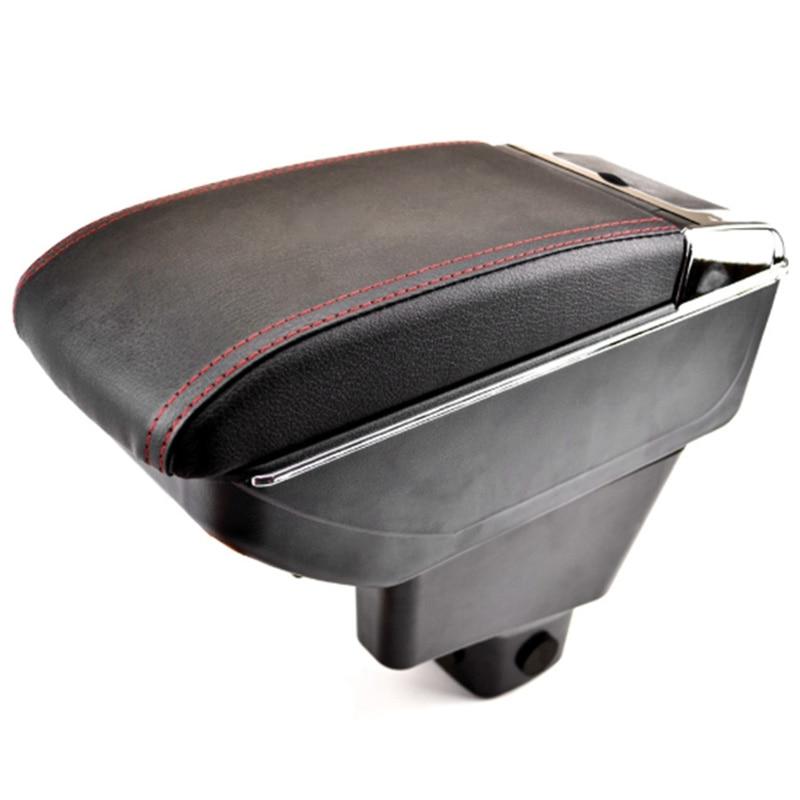 Автомобильный поворотный подлокотник для Suzuki Sx4 2007 2013 подлокотник центральный ящик для хранения консоли 2008 2009 2010 2011 2012