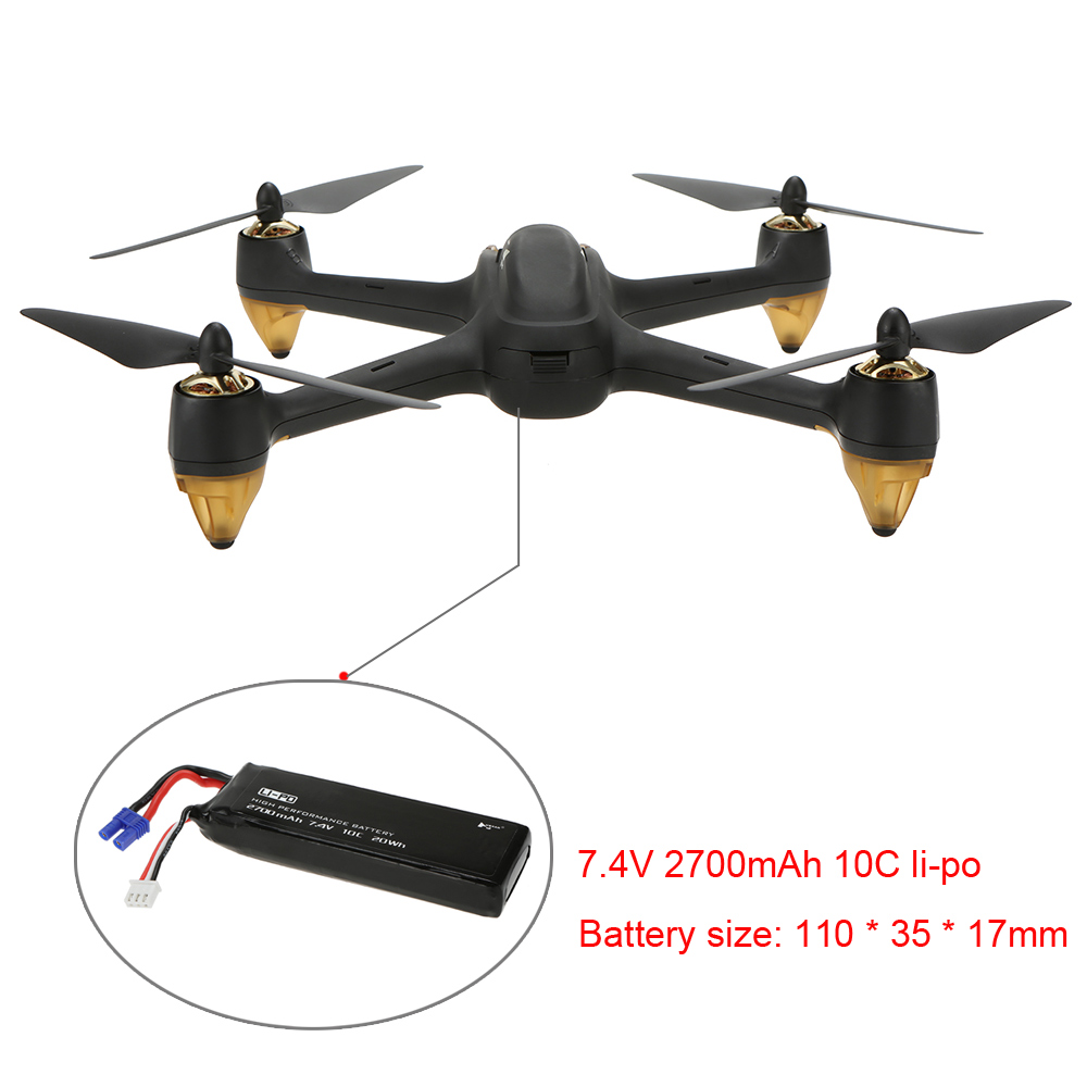 Hubsan H501S Pro X4 5.8G FPV Selfie Drone Brushless RC Drone with Camera 1080P 10 Channel Remote Control GPS RC Quadcopter (10)