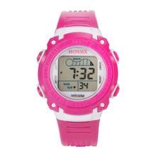 Простой Часы Для мужчин многофункциональный Водонепроницаемый ребенок/мальчика/девушки сплав силиконовой лентой электронные Часы Для мужчин S Часы relogios @ T10