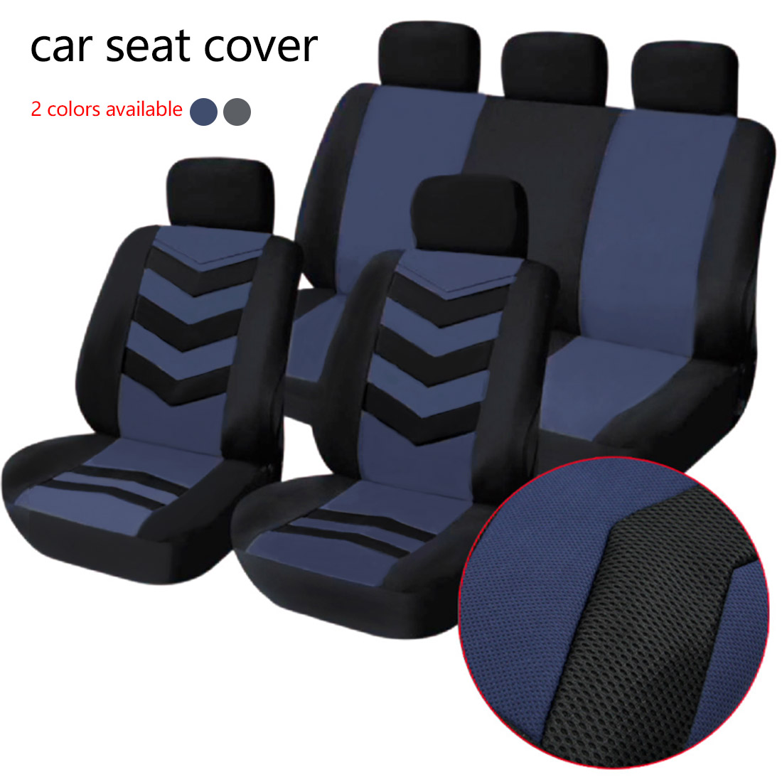 Dewtreetali Car Front Seat Cover Sandwich Four Seasons Universal Seat Protector Cushion Cover Fit Most Auto Car SUV Car Styling dewtreetali universal automoblies seat cover four seaons car seat protector full set car accessories car styling for vw bmw audi
