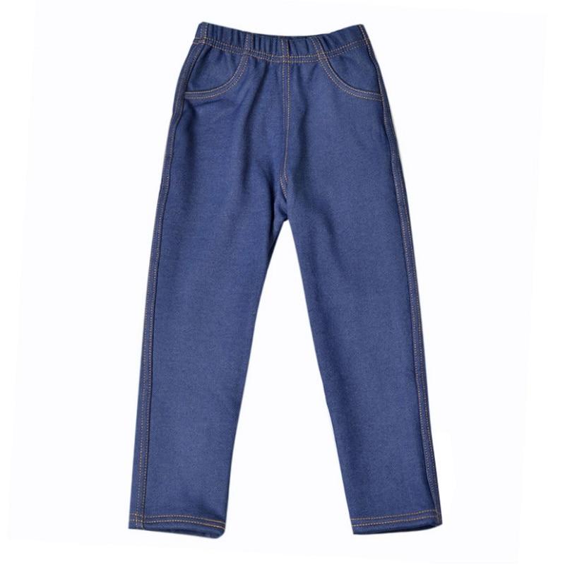 Kids Thick Autumn Winter Warm Elastic Waist Cotton Leggings Girl Pants Trousers Children Grils Leggings Solid Pant цена