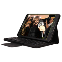2 In 1 PU Leather Removable Wireless Bluetooth Keyboard Case For Samsung Galaxy Tab E 9
