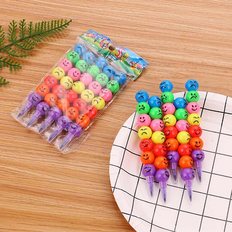 10 шт., Разноцветные Креативные карандаши с сахарным покрытием, 7 цветов