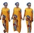 2016 Étnico Vestido de Playa Maxi Vestido de Las Mujeres de La Vendimia Cabeza Retratos Digitales Imprimir Casual Vestido Largo Vestidos De Fiesta