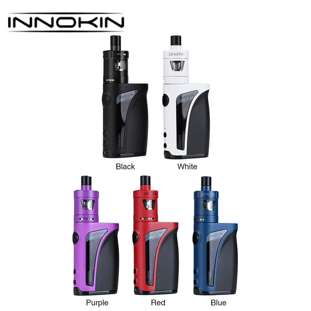 Original Innokin Kroma-A 75W TC Kit 2000mAh Built In Battery with Kroma-A MOD 4ml/2ml Zenith Atomizer E-cigarettes MTL Vape Kit