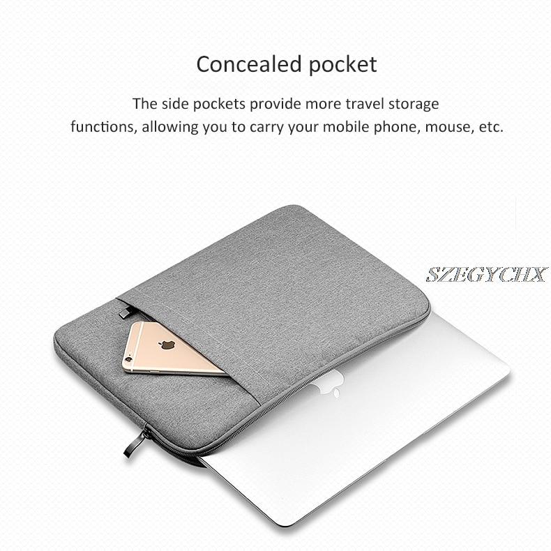 Sleeveväska till Macbook Air 13 Pro Retina 11 12 13 15 15.4 Sleeve - Laptop-tillbehör - Foto 6